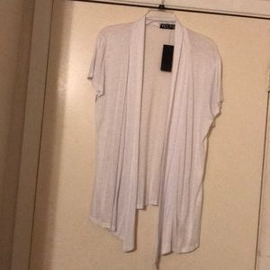 NWT Short Sleeve TShirt Cardigan. Size XL